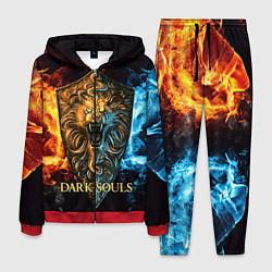 Костюм мужской Dark Souls: Lion Shield цвета 3D-красный — фото 1