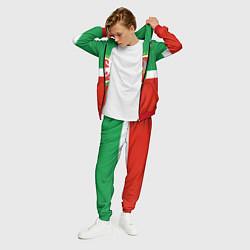 Костюм мужской Татарстан: флаг цвета 3D-красный — фото 2