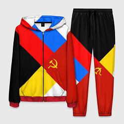 Костюм мужской Вечная Россия цвета 3D-красный — фото 1