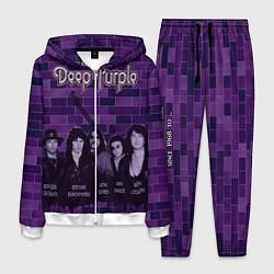 Костюм мужской Deep Purple цвета 3D-белый — фото 1