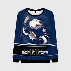 Свитшот мужской Toronto Maple Leafs цвета 3D-черный — фото 1