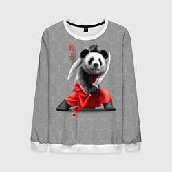 Свитшот мужской Master Panda цвета 3D-белый — фото 1