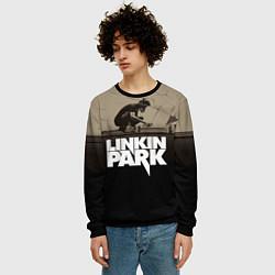 Свитшот мужской Linkin Park: Meteora цвета 3D-черный — фото 2