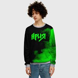 Свитшот мужской Ария цвета 3D-меланж — фото 2