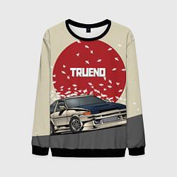 Свитшот мужской Toyota Trueno ae86 цвета 3D-черный — фото 1