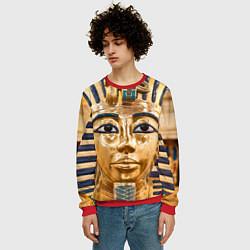 Свитшот мужской Фараон цвета 3D-красный — фото 2