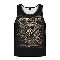 Майка-безрукавка мужская Machine Head цвета 3D-черный — фото 1