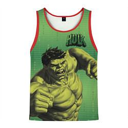 Майка-безрукавка мужская Hulk цвета 3D-красный — фото 1