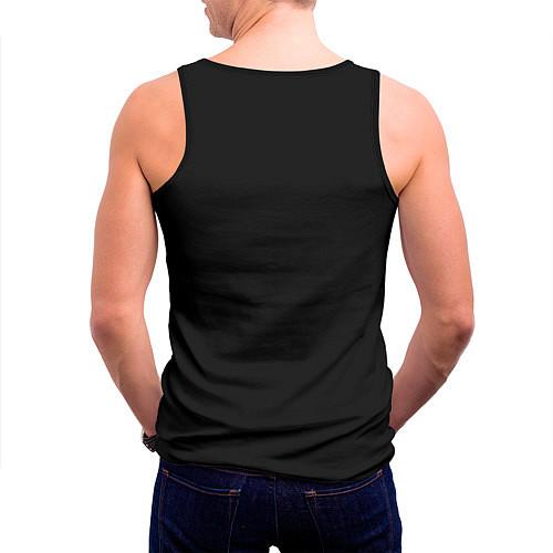 Мужская майка без рукавов Кипелов: Ария / 3D-Черный – фото 4