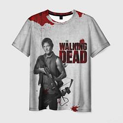 Мужская 3D-футболка с принтом Ходячий Дерил Диксон, цвет: 3D, артикул: 10107750803301 — фото 1
