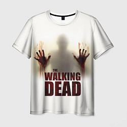 Мужская 3D-футболка с принтом Walking Dead Shadow, цвет: 3D, артикул: 10107752303301 — фото 1