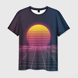 Футболка мужская Vapor Sunrise цвета 3D-принт — фото 1