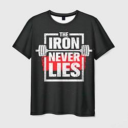 Футболка мужская The iron never lies цвета 3D — фото 1