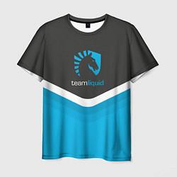 Футболка мужская Team Liquid Uniform цвета 3D-принт — фото 1