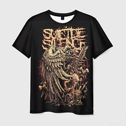 Футболка мужская Suicide Silence цвета 3D-принт — фото 1