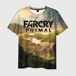 Футболка мужская Far Cry: Primal цвета 3D — фото 1