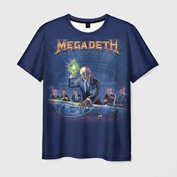 Футболка мужская Megadeth: Rust In Peace цвета 3D — фото 1