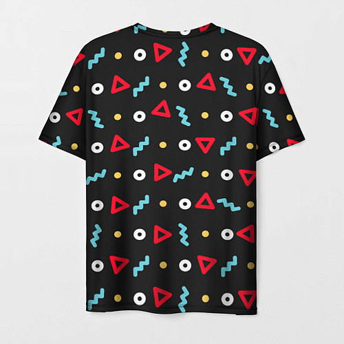 Мужская футболка Киря / 3D – фото 2