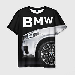 Футболка мужская BMW: White Style цвета 3D — фото 1