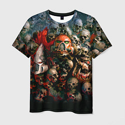 Футболка мужская Warhammer 40k: Skulls цвета 3D — фото 1