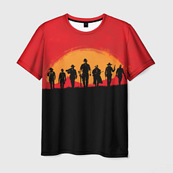 Футболка мужская Red Dead Redemption 2 цвета 3D-принт — фото 1