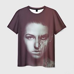 Футболка мужская Chelsea Grin: Death Girl цвета 3D-принт — фото 1