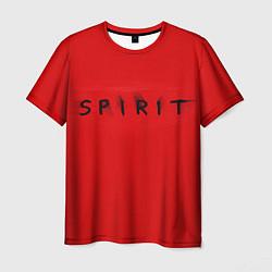 Футболка 3D мужская DM: Red Spirit - фото 1