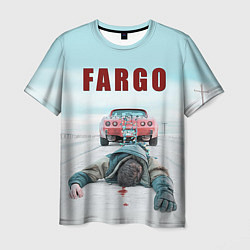 Футболка мужская Fargo Racing цвета 3D — фото 1