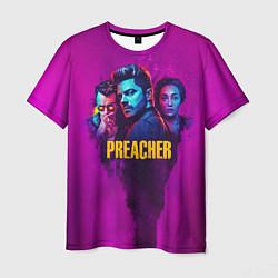Футболка мужская Preacher цвета 3D-принт — фото 1