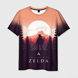 Футболка мужская The Legend of Zelda цвета 3D — фото 1