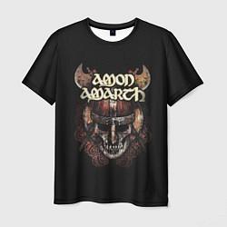 Футболка мужская Amon Amarth: Death Viking цвета 3D — фото 1