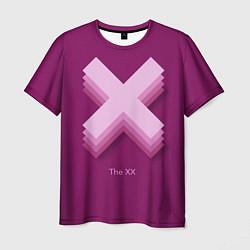Футболка мужская The XX: Purple цвета 3D — фото 1