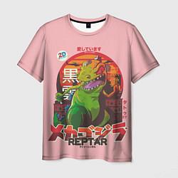 Футболка мужская Godzilla Reptar цвета 3D — фото 1