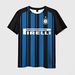 Футболка мужская Inter FC: Home 17/18 цвета 3D-принт — фото 1