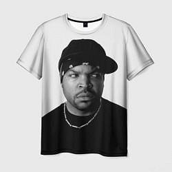 Футболка мужская Ice Cube цвета 3D-принт — фото 1