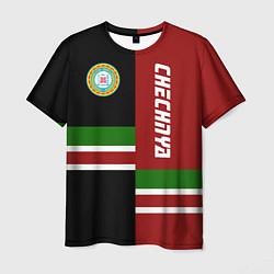 Мужская 3D-футболка с принтом Chechnya, Russia, цвет: 3D, артикул: 10146863903301 — фото 1