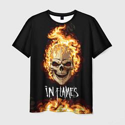Футболка мужская In Flames цвета 3D-принт — фото 1