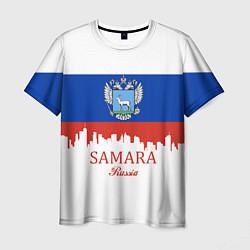 Футболка мужская Samara: Russia цвета 3D — фото 1