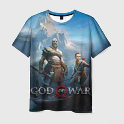 Футболка мужская God of War цвета 3D — фото 1