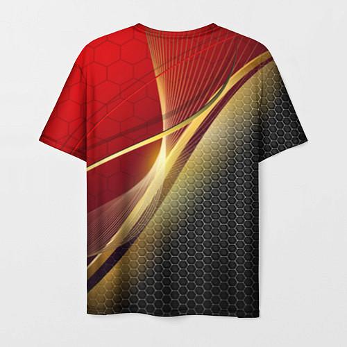 Мужская футболка RUSSIA SPORT: Gold Collection / 3D – фото 2