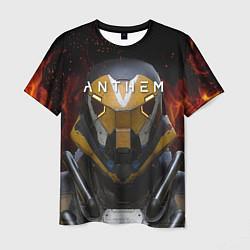 Мужская 3D-футболка с принтом ANTHEM Soldier, цвет: 3D, артикул: 10156067703301 — фото 1