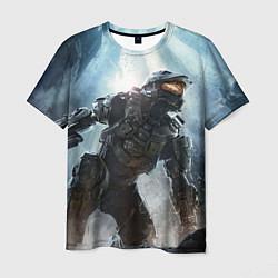 Футболка мужская Halo: Iron Soldier цвета 3D — фото 1