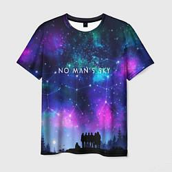 Футболка мужская No Man's Sky: Space Vision цвета 3D — фото 1