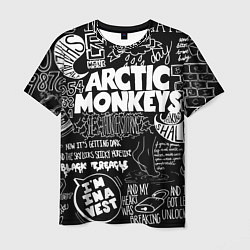 Футболка мужская Arctic Monkeys: I'm in a Vest цвета 3D — фото 1