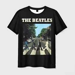 Мужская 3D-футболка с принтом The Beatles: Abbey Road, цвет: 3D, артикул: 10172957903301 — фото 1