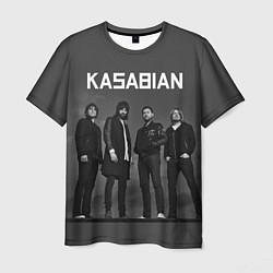 Футболка мужская Kasabian: Boys Band цвета 3D-принт — фото 1