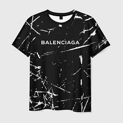 Футболка мужская BALENCIAGA цвета 3D — фото 1
