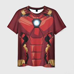 Футболка мужская Iron Man Costume цвета 3D — фото 1