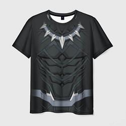 Мужская 3D-футболка с принтом Black Panther Costume, цвет: 3D, артикул: 10179941303301 — фото 1