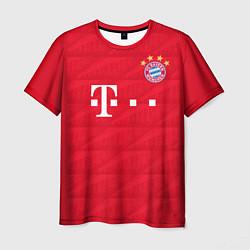 Футболка мужская FC Bayern: Lewandowski Home 19-20 цвета 3D-принт — фото 1